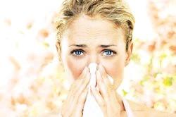 Алергія в березні