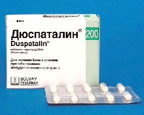 Дюспаталін, дія при панкреатиті
