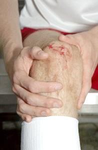 Лікування забіття колінного суглобу