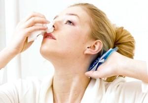 Перша допомога: як зупинити кров з носа!