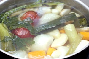 Овочевий бульйон - смачно і корисне