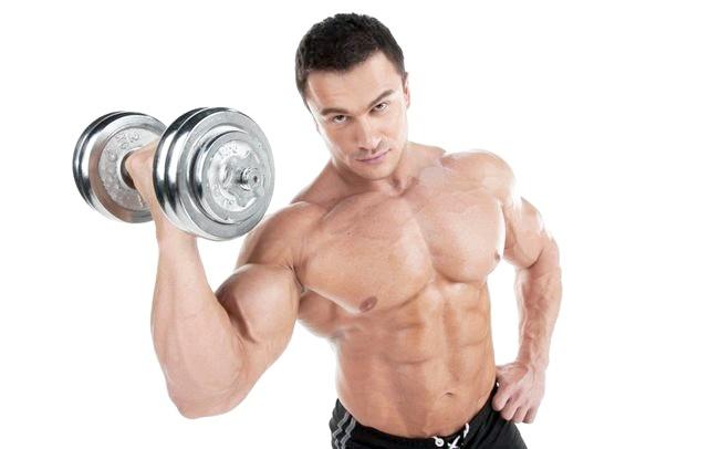 Як виконувати вправи з гантелями для чоловіків?