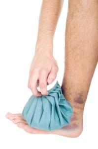 лід на пошкодженню суглоб