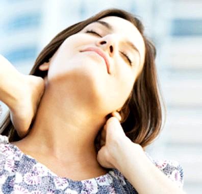 Самомасаж шії при остеохондрозі