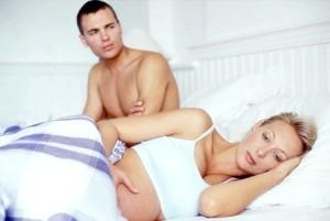 Секс у жінок в положенні і кров після нього